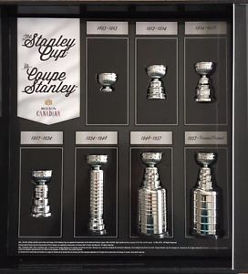 Molson Stanley cup set with display case $