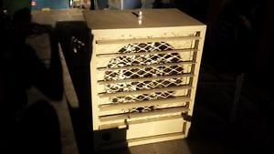 Never used electric heater