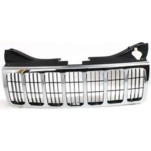 New Jeep Grand Cherokee Chrome Grille