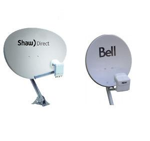 SHAW DIRECT / TELUS/ BELL satellite dish INSTALLATION and