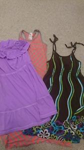 Set of 3 summer dresses size 14 girls