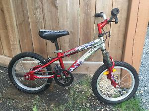 "Tech Team kids bike (16"" wheels)"