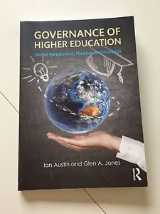 Used text book - Governance of Higher Education