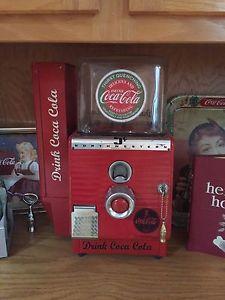 Vintage Coca Cola peanut machine