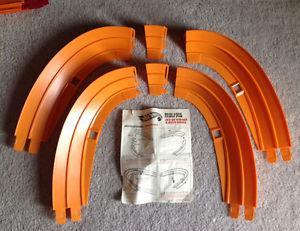 Vintage Hot Wheels Dual-Lane curve pack (pak)