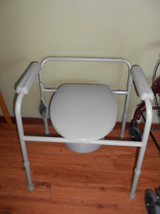 Walkers and Commode