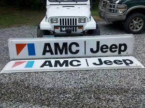 Wanted: Jeep amc cj wagoneer comanche dealer sign