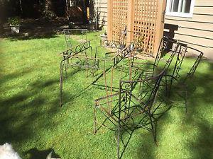 Wanted: Wrought Iron Dining Suite