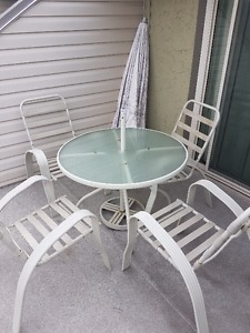 complete patio set for sale