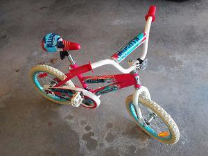 """kids 16"""" supercycle bike"""