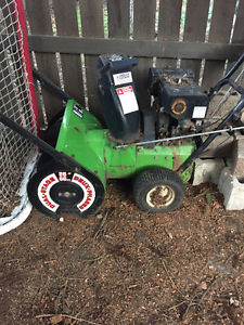 """24"""" Noma Gas Powered Snow Blower"""