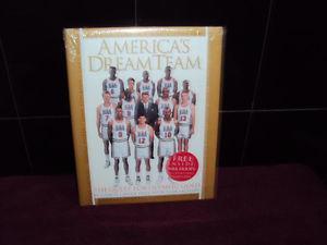 America's Dream Team w/NBA Hoops card