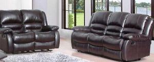 BEAUTIFUL Expresso Finish Living Room Set BRAND NEW