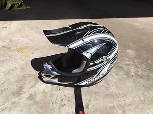 Bike/Motorcycle Helmet Youth Large
