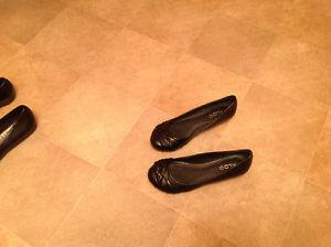 Black leather shoes for sale