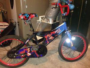 Boys superman bike