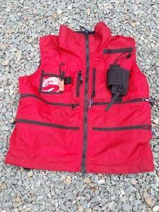 Cascade Tobaggon patrol vest size L