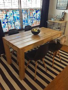 Custom Cedar Dining Table