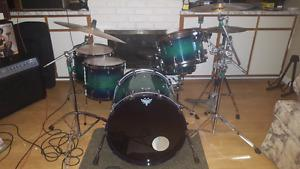 Drum kit and hardware ddrum dominion ash