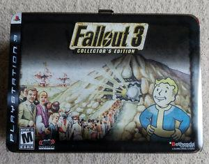 Fallout 3 - Metal Collector's Lunchbox - no game