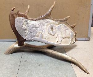 Hand Carved Antler $