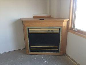 Heat N Glo Natural Gas Fireplace