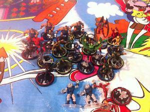 HeroClix Lot Of WizKids DC Marvel doctor octopus, goblin,