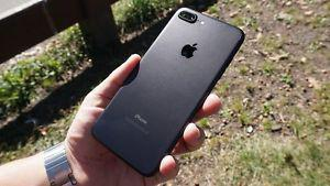Iphone 7+ 32 GB unlocked in Matt Black color