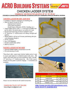 Ladders for sloped roofing with Ladder hook wheel