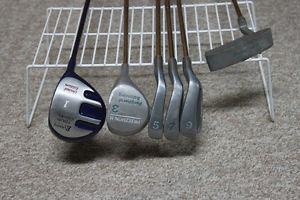 Ladies Right Hand 6 piece Golf Set
