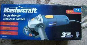 Mastercraft Angle Grinder 7A 4.5 inch with diamond blade