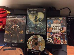 PS2 games.