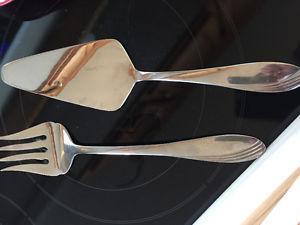 Paderno fork and cake/pie server