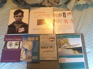Psychology and Sociology Textbooks