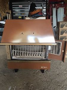 Small camp or garage wood stove