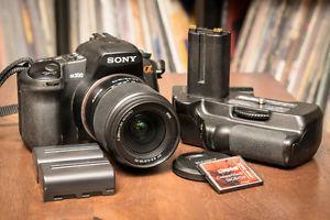 Sony A300 Digital SLR Camera + Accessories