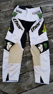Thor Phase MX Pro Circuit Monster Energy Pants Size 26