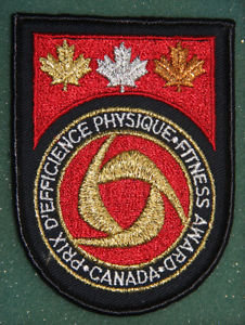 Wanted: Canada Fitness Award Badges