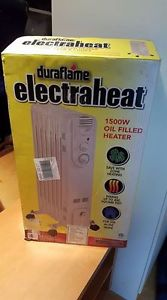 duraflame electraheat w oil filled heater