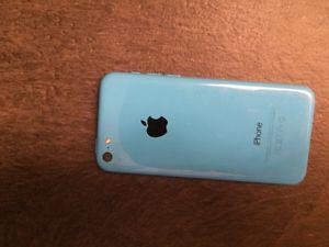 iPhone 5c, blue, 16g, locked to Telus, $220