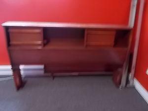 solid wood double bedroom set