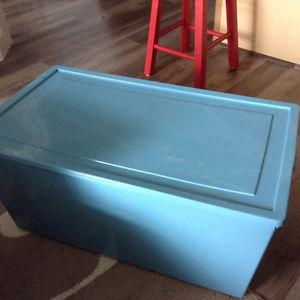 three storage containers