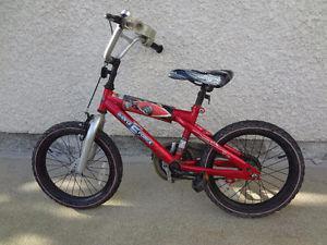 $100 - Hot Wheels 16'' Bike with training wheels. Great Deal