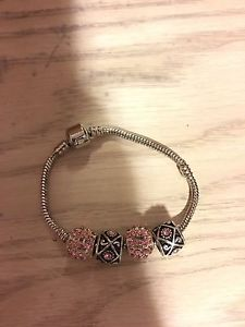 2 CHARM BRACELETS AND CHARMS FOR SMALL WRISTS