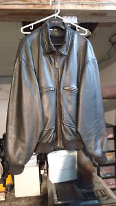 2 Men's leather jackets for sale