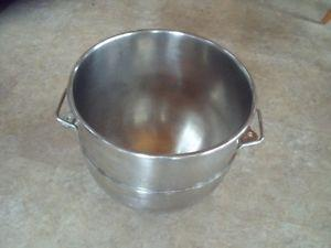 40 quart stainless steel mixing bowl Hobart ?