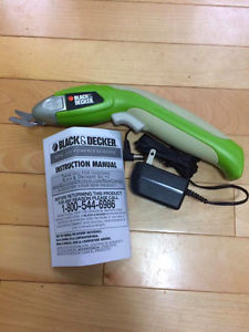 Black and Decker Electric Scissors