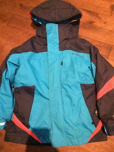Boys 3-in-1 Spring/Winter Columbia Coat Size 6/7