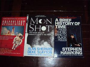 Collection of Outer Space Books 4 in total