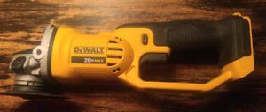 DeWalt 20 volt grinder w/battery